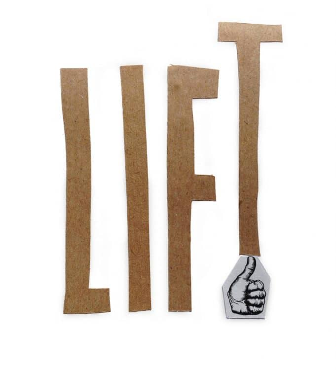 denkFrank word of the week LIFT