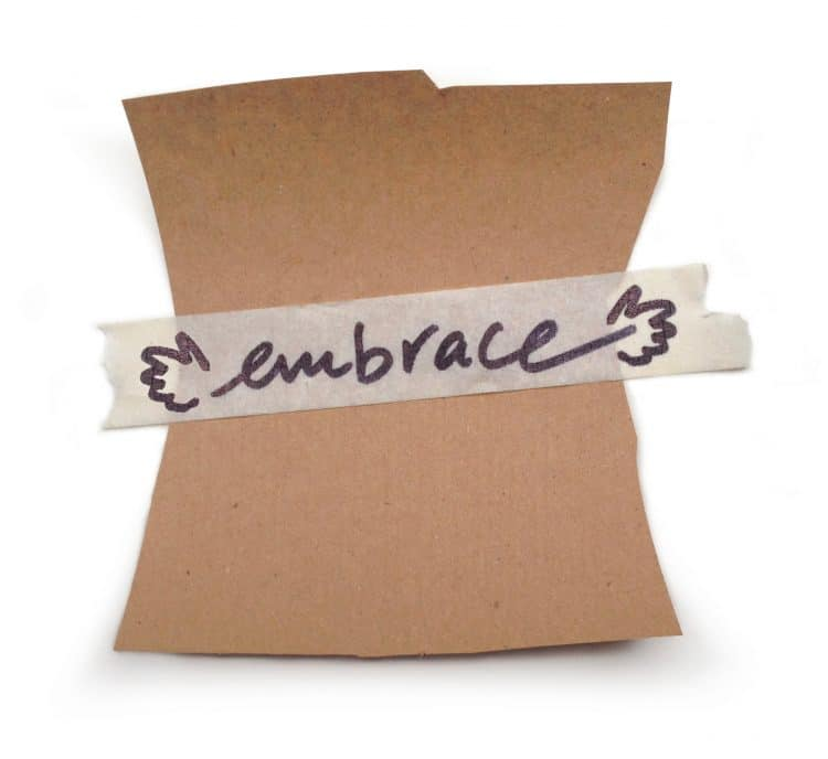 denkFrank word of the week EMBRACE