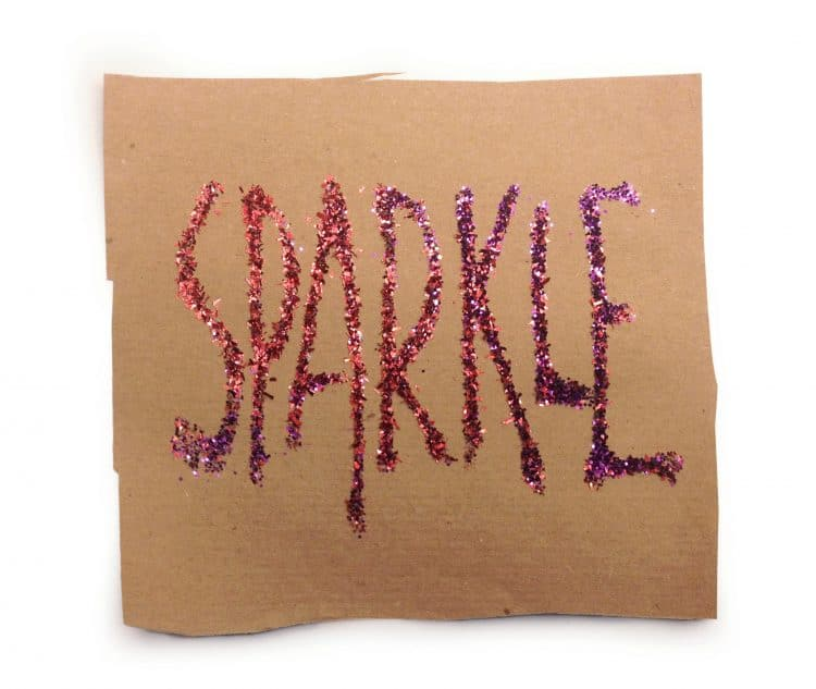 denkFrank word of the week SPARKLE